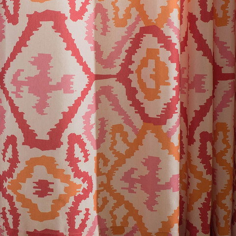 Spark Navajo Geometric Patterned Curtain 6
