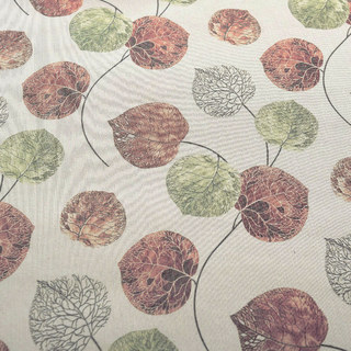 The Eucalyptus Moment Brown Leaf Roman Blind 4