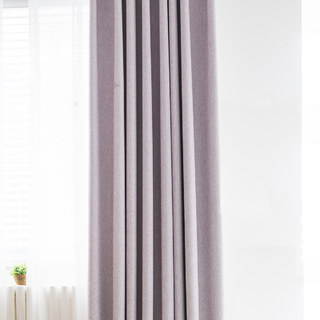 Absolute Blackout Light Pink Purple Curtain 3