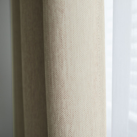 Absolute Blackout Cream Roman Blind 3