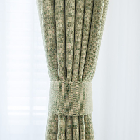 Absolute Blackout Olive Green Curtain 5