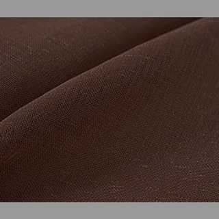Smarties Chocolate Brown Soft Sheer Voile Curtain 2