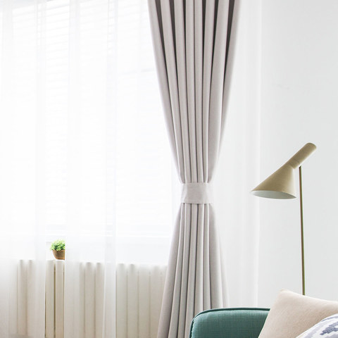 Absolute Blackout Neutral Ivory White Curtain 4