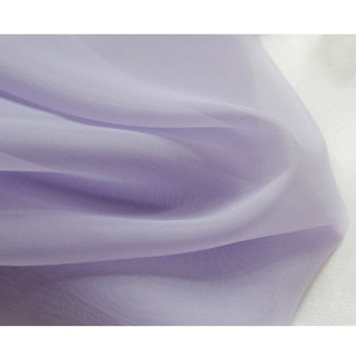 Smarties Lilac Soft Sheer Voile Curtain 2