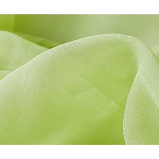 Smarties Lime Green Soft Sheer Voile Curtain 4