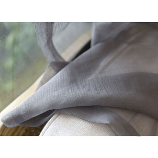 Sheer Curtain Smarties Grey Soft Sheer Voile Curtain 4