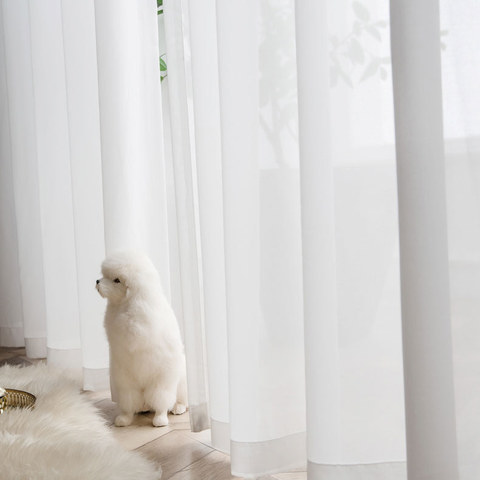 Coconut Soft White Voile Sheer Curtain The Essence Of Nature Design 2