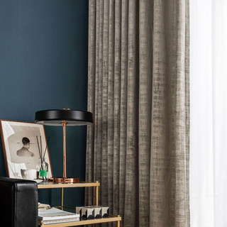 Premium Light Brown Mocha Velvet Curtain 4