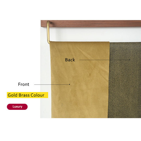Fine Gold Velvet Curtain 6