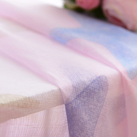 Sheer Curtain Starfish Baby Pink Voile Curtain 5