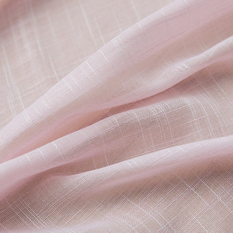 Sheer Curtain A touch of Sunshine Pink Voile Curtain 5