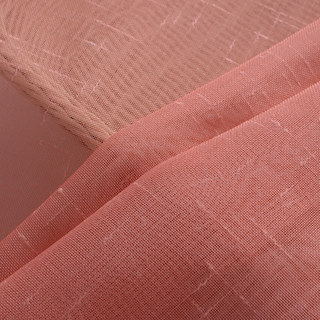 The Perfect Blend Ombre Red Orange Sheer Voile Curtain 9