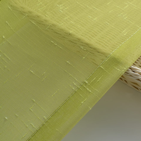 The Perfect Blend Ombre Lime Green Sheer Voile Curtain 7