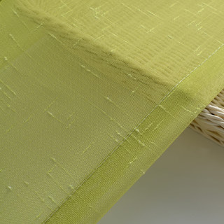 The Perfect Blend Ombre Lime Green sheer Curtain 7