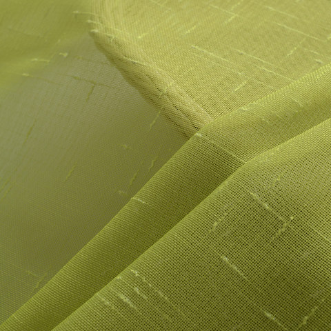 The Perfect Blend Ombre Lime Green sheer Curtain 5