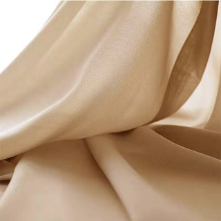 Sheer Curtain Soft Breeze Mocha Voile Curtain 4