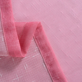 The Perfect Blend Ombre Pink Sheer Curtain 11