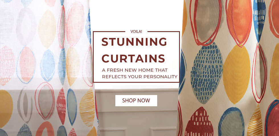 Custom Geometric Patterned Curtains