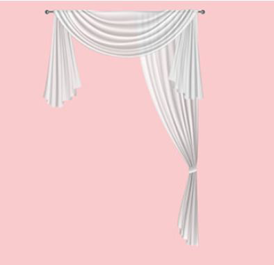 How to Drape a Sheer Curtain Scarf over a Rod?