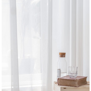 Sheer Curtain Coconut Soft White Voile Sheer Curtain The Essence Of Nature Design 7