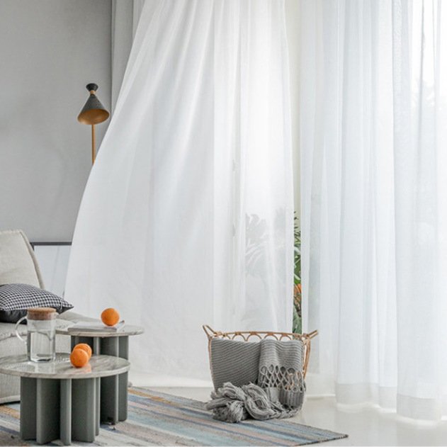 Inspiring Ideas of Sheer Curtains for Living Rooms