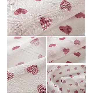 Queen of Hearts Semi Sheer Voile Curtain 5