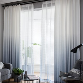 The Perfect Blend Ombre Grey Curtain 1