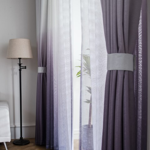 The Perfect Blend Ombre Purple Curtain 3