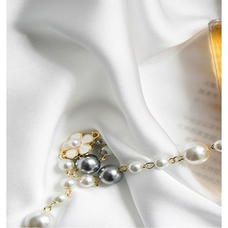 Silk Road Moonlight White Sheer Voile Curtain 4