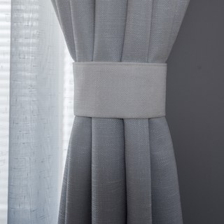 The Perfect Blend Ombre Grey Curtain 3