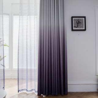 The Perfect Blend Ombre Purple Curtain 5