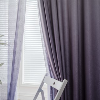 The Perfect Blend Ombre Purple Curtain 4